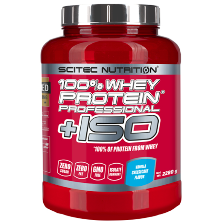 100% Whey Professional + ISO