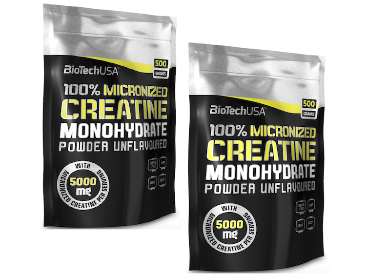 2 x 100% Micronised Creatine