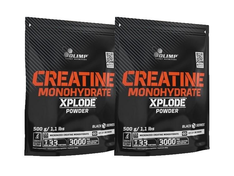 2 x Creatine Xplode Powder