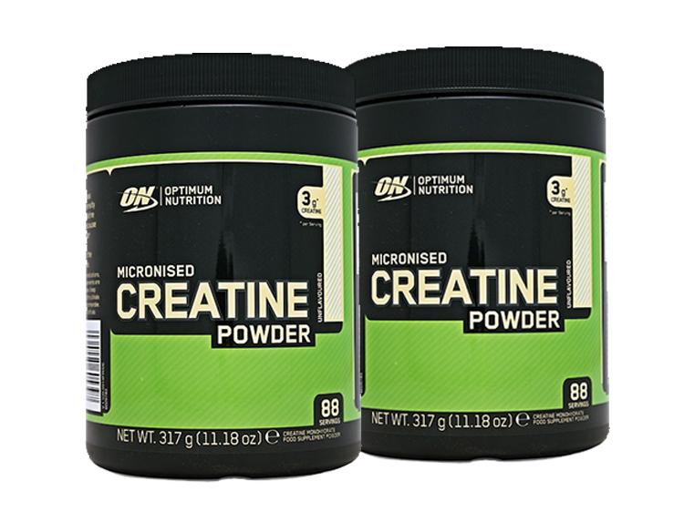 2 x Micronized Creatine Powder