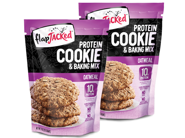 2 x Protein Cookie Backmischung