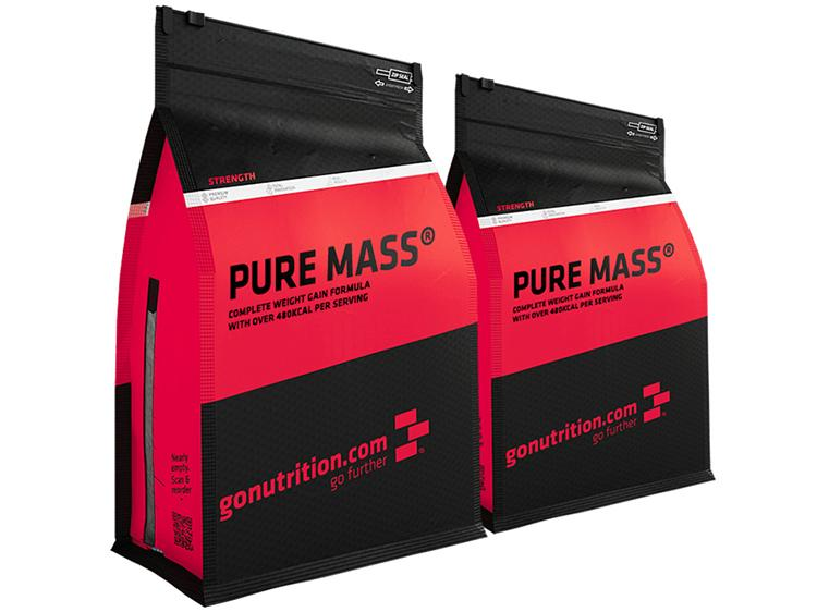 2 x Pure Mass GoNutrition