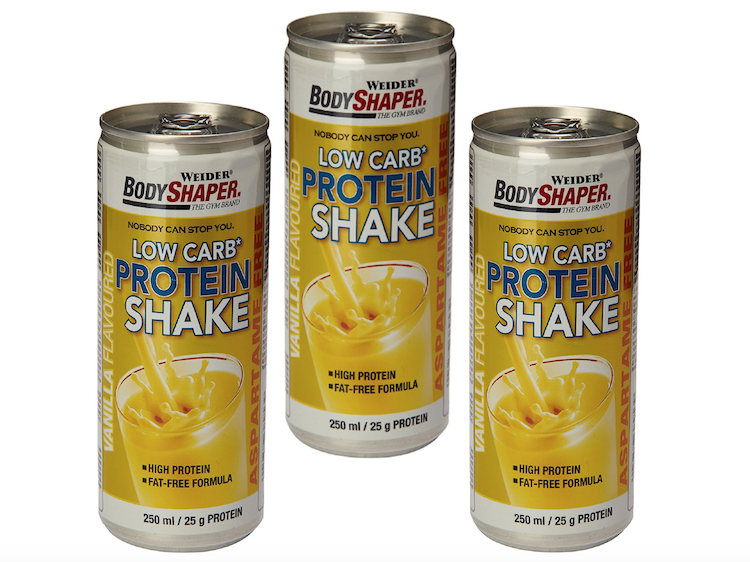 3 x Low Carb Protein Shake Weider