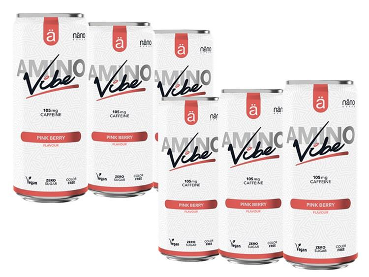 6 x VIBE Energy & Amino Drink