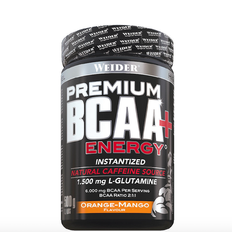Premium BCAA Powder + Energy