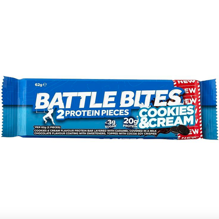 Battle Bites, Cookies&Cream