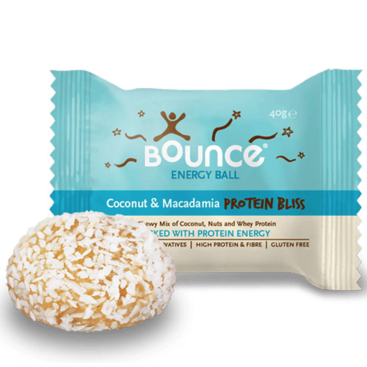 Coconut Macademia Protein Ball