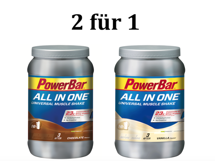 DEAL 2 für 1: All in One from Powerbar