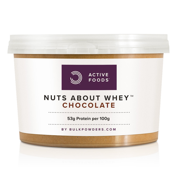 Nuts about Whey