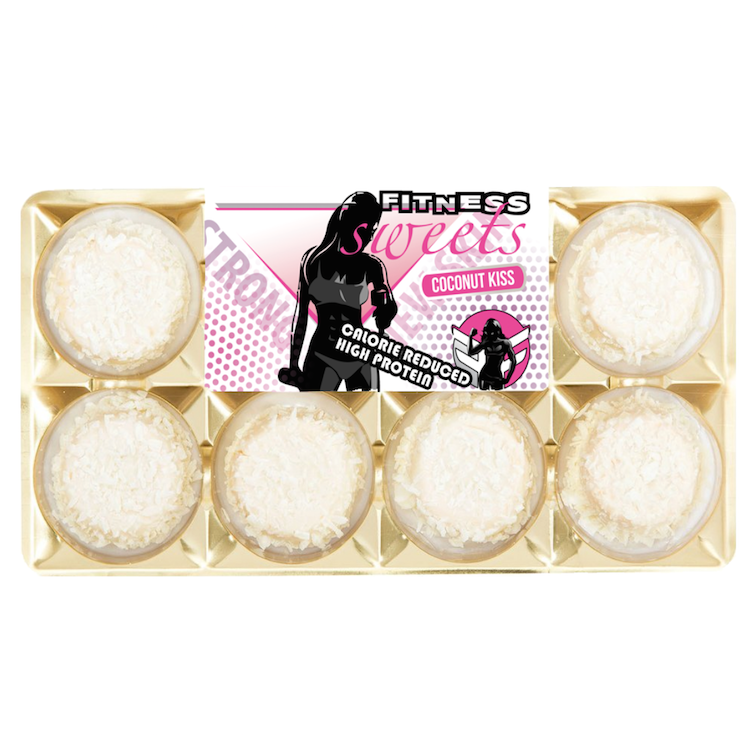 Fitness Pralinen, Coconut Kiss