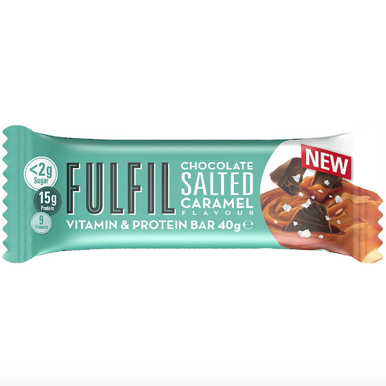 Fulfil Bar Chocolate Salted Caramel