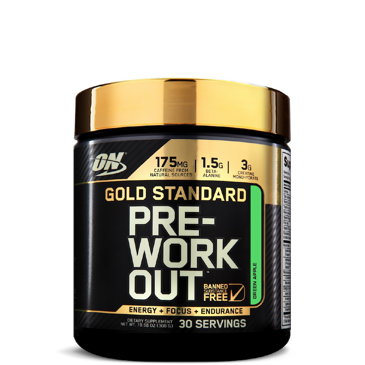 Gold Standard PRE-Workout, Green Apple