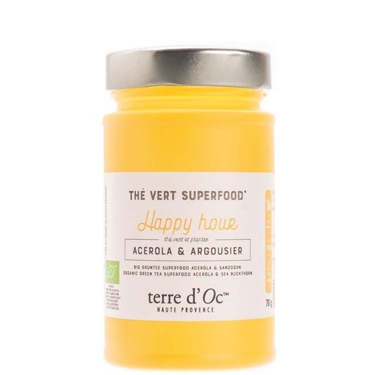 Green tea Superfood Acerola & Sea Buckthorn