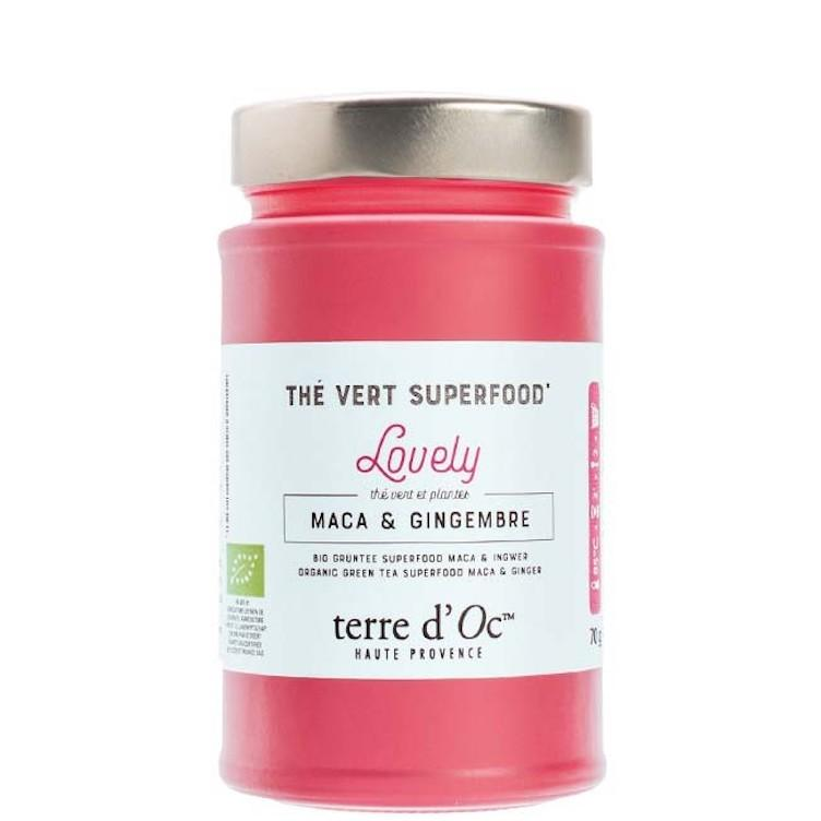 Green tea Superfood Maca & Ginger