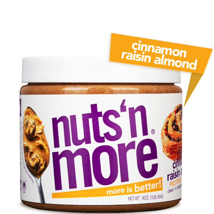 High Protein Almond Butter Cinnamon Raisin