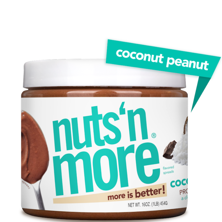 High Protein Coconut Peanut Butter