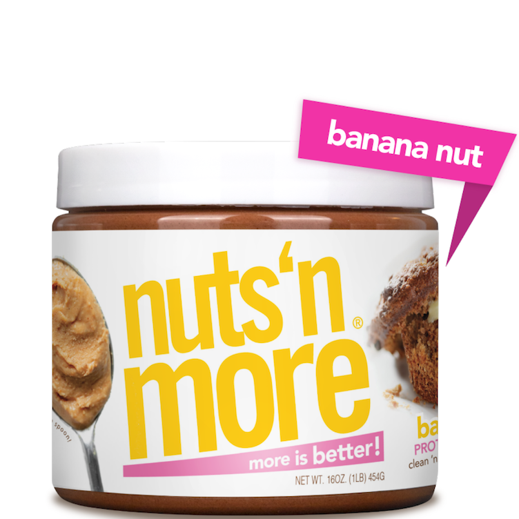 High Protein Peanut Butter Banana Nut