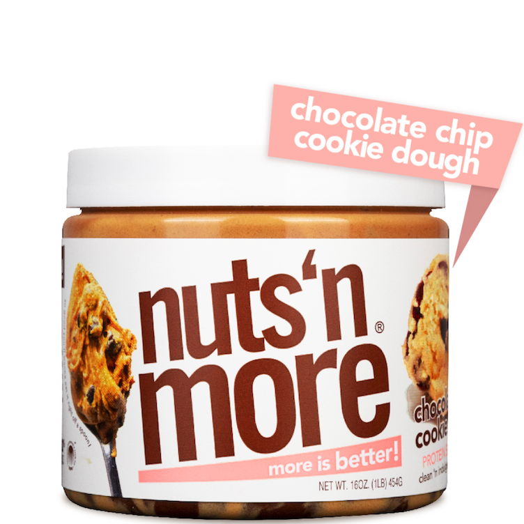 High Protein Peanut Butter Choco Chip Cookie Dough