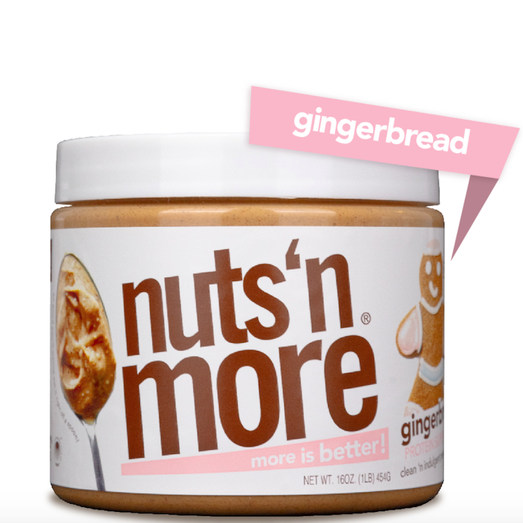 High Protein Peanut Gingerbread