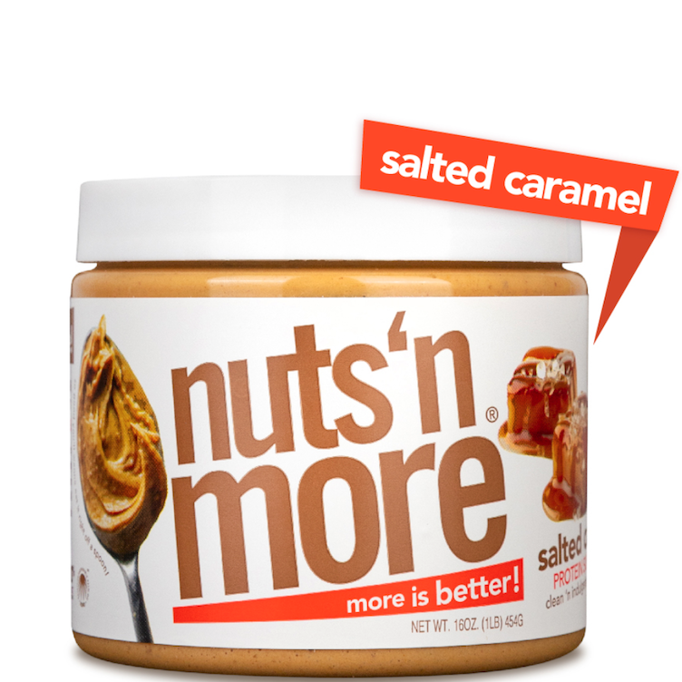 High Protein Peanut Salted Caramel