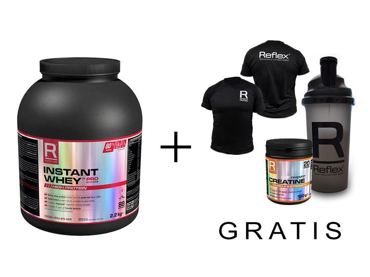 Instant Whey PRO + Products for free