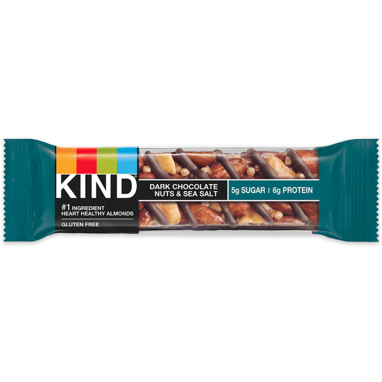 Kind Nut Bar Dark Choco Nuts & Sea Salt