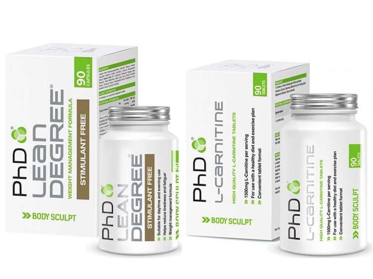 Lean Degree & L-Carnitine SET