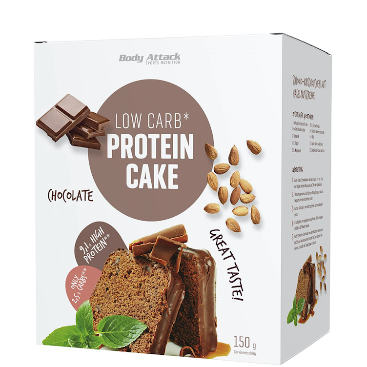 Low Carb Protein Cake
