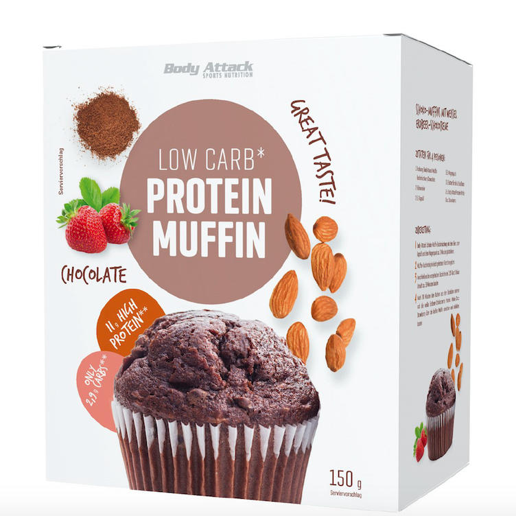 Low Carb Protein Muffin
