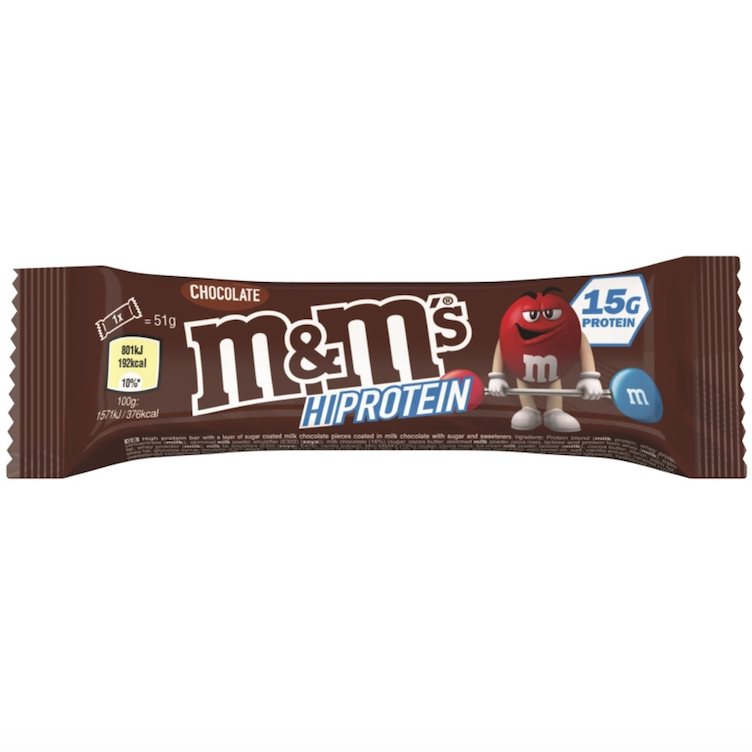 M&M`s Hi Protein Bar Chocolate