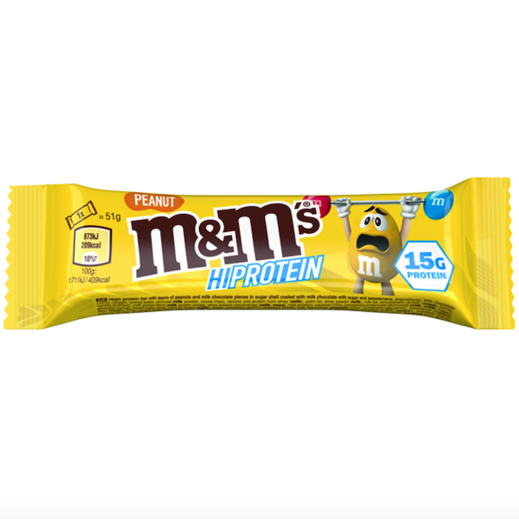 M&M`s Hi Protein Bar Peanut
