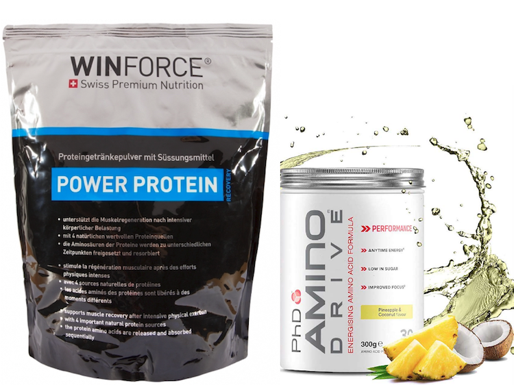 Power Protein & gratis Amino Drive