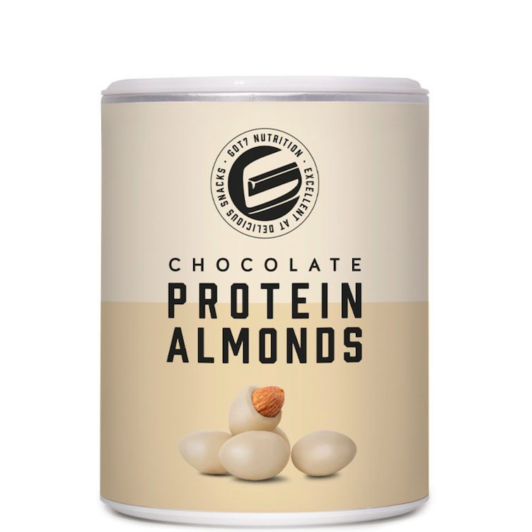 Protein Almonds White Chocolate