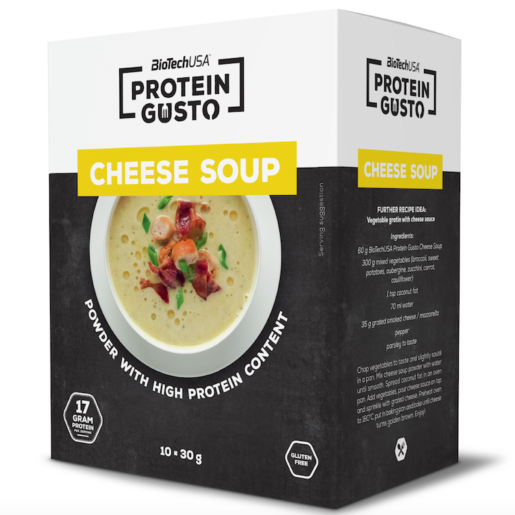Protein Käse Suppe
