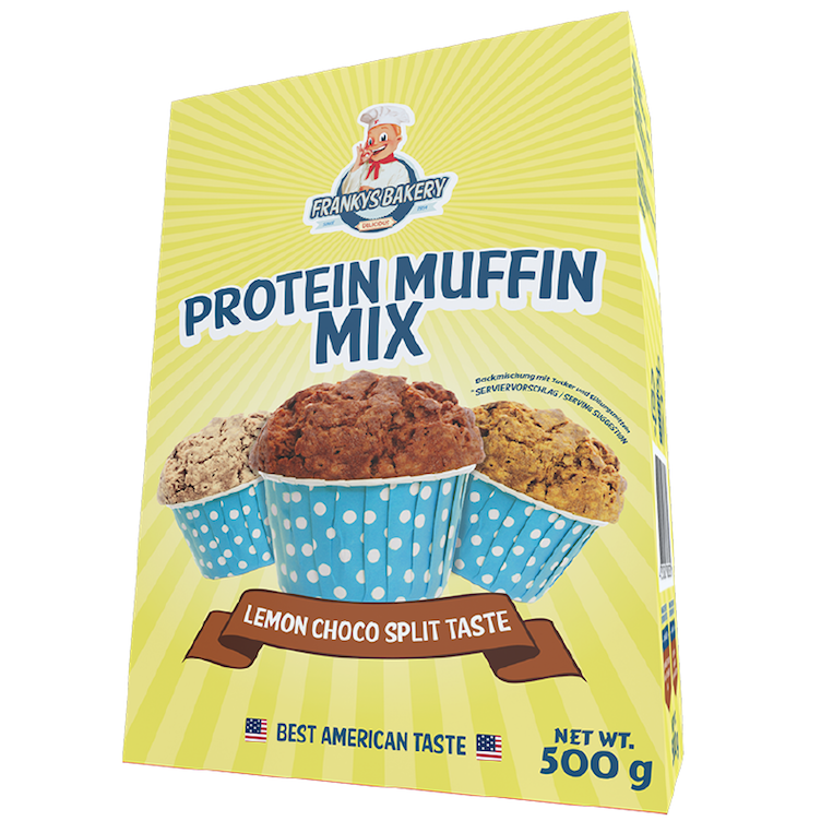 Protein Muffin, Lemon Choco Split