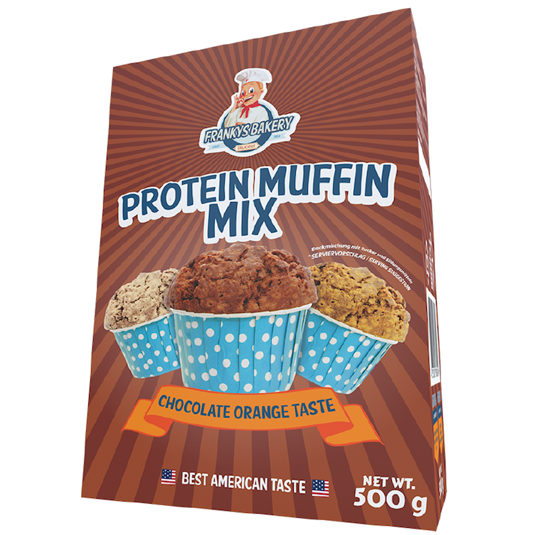 Protein Muffin, Schoko-Orange