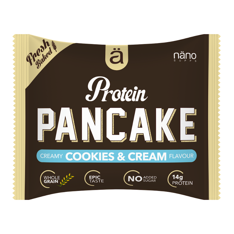 Protein Pancake Cookies & Cream