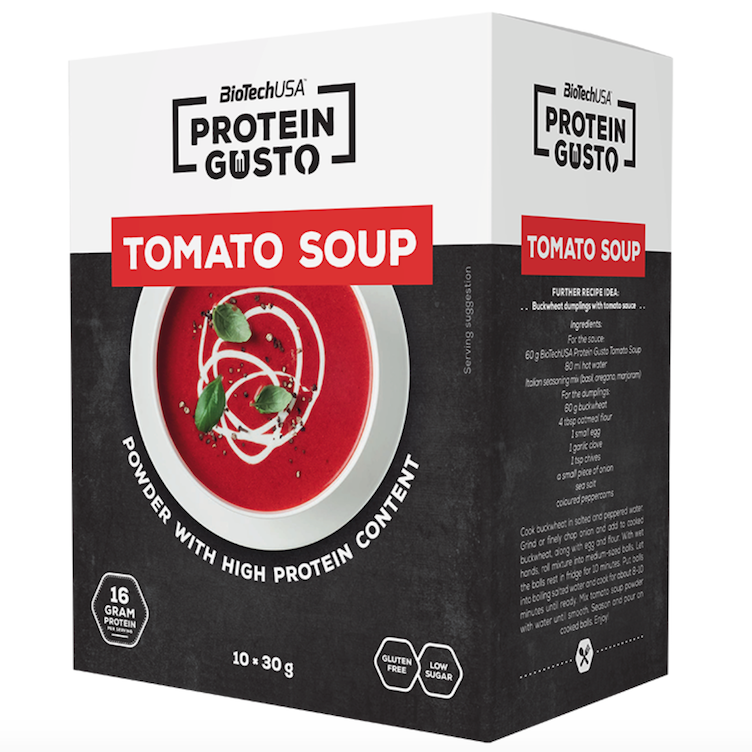 Protein Tomaten Suppe