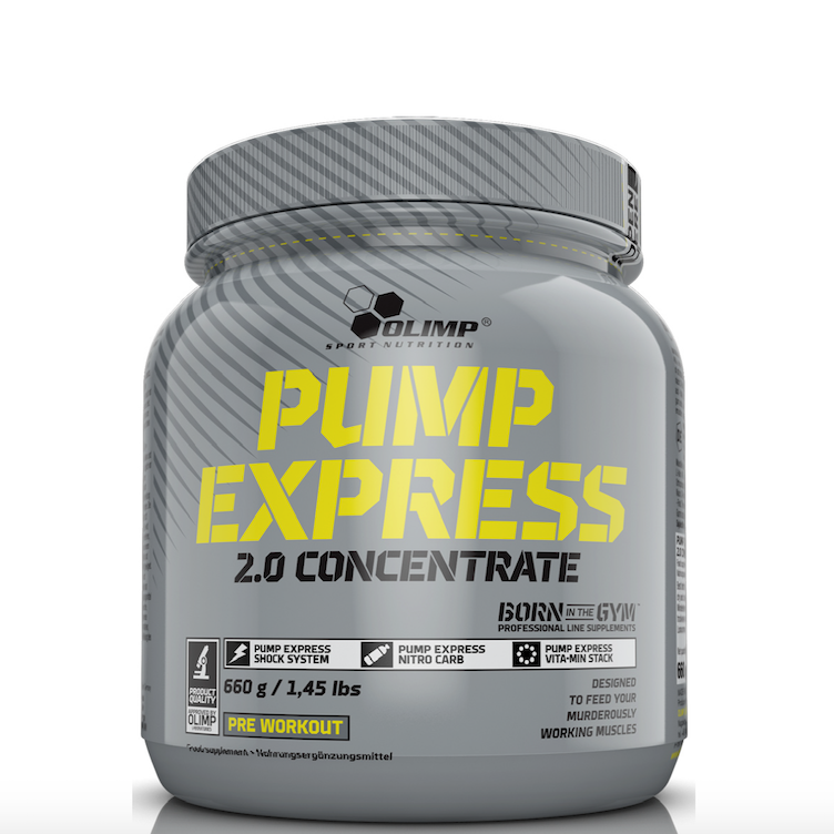 Pump Express 2.0 Pre-Workout