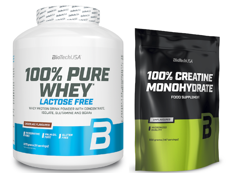 Pure Whey & Creatine SET