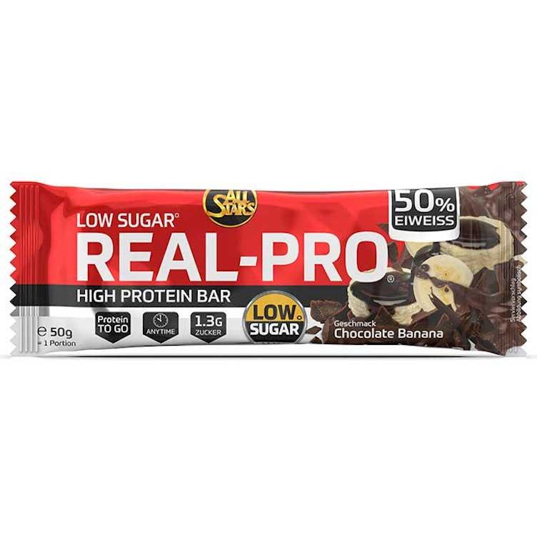 Real-Pro Low Sugar Riegel