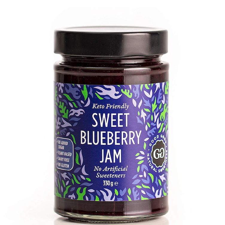 Sweet Jam with Stevia Blueberry