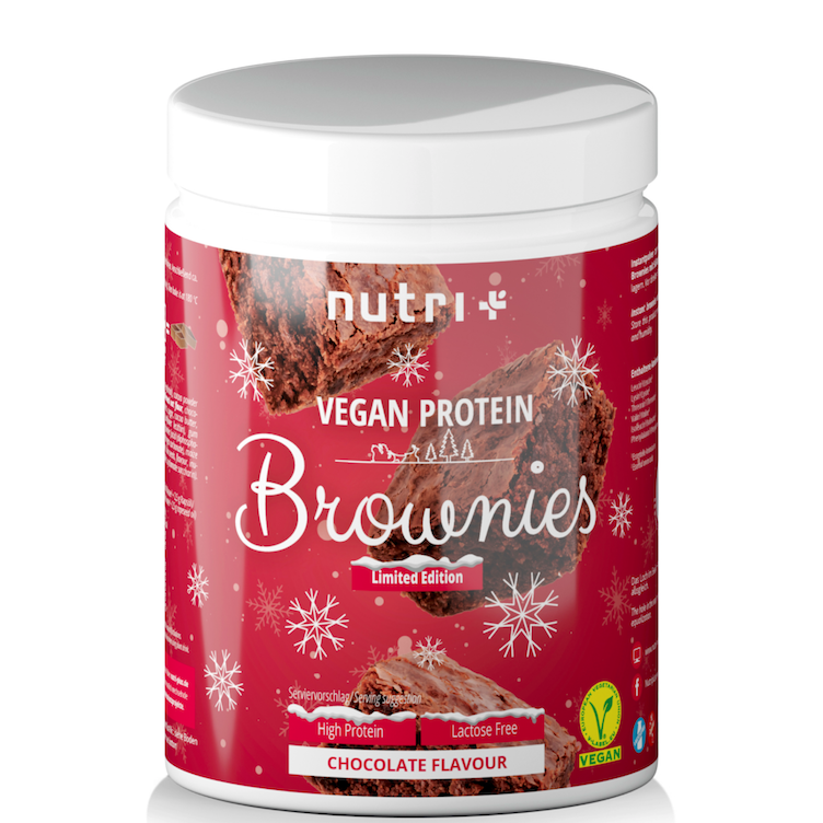 Vegan Protein Brownies