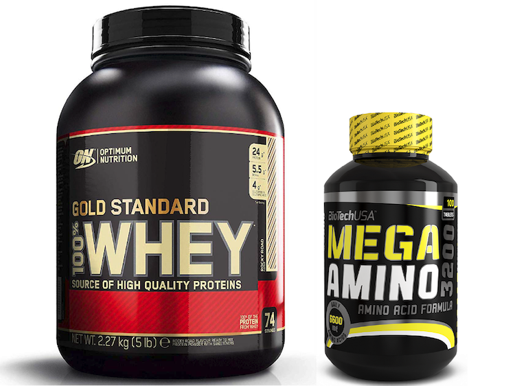 Whey Gold & Mega Amino SET