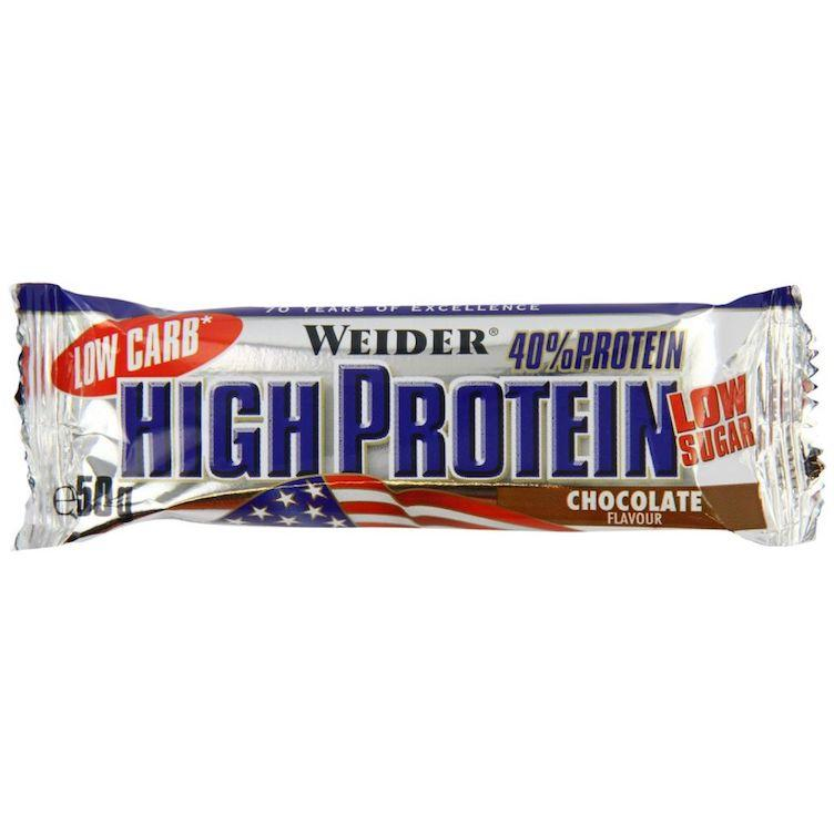 40% Low Carb High Protein Riegel